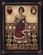 Harlequin Queen - Mini  Fine Art Print