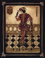 Harlequin Joker - Mini  Fine Art Print