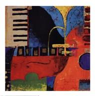 Juxta Jazz II  Fine Art Print