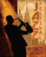1962 Jazz in New York  Fine Art Print