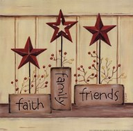 Faith Family Friends Art