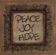 Peace Joy Hope Art