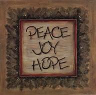 Peace Joy Hope  Fine Art Print