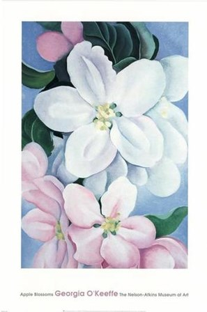 Apple Blossoms by Georgia O'Keeffe art print