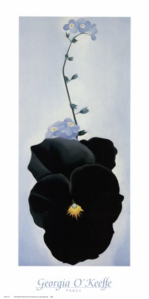 Pansy 1926 Fine Art Print By Georgia O Keeffe At