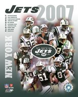 2007 - Jets Team Composite  Fine Art Print