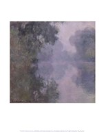 The Seine at Giverny, Morning Mists, 1897 Art