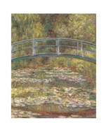The Water Lily Pond & Bridge Art