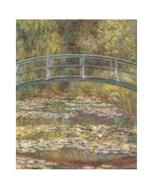 The Water Lily Pond & Bridge Art