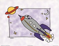 Rocketship I  Fine Art Print