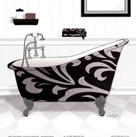 Damask Tub II  Fine Art Print