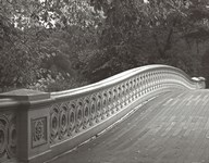 Central Park Bridge Art