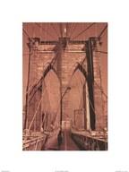 Brooklyn Bridge - tall  Fine Art Print