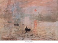Impression, Sunrise, c.1872 (green) Art