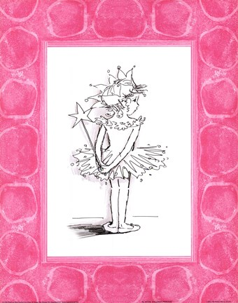 Framed Ballerina Princess Print