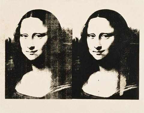 Framed Double Mona Lisa, c.1963 Print