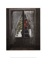 The Red Kerchief: Portrait of Mrs. Monet, c.1873  Fine Art Print