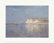 Low Tide at Pourville, near Dieppe, 1882  Fine Art Print