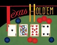 Texas Hold 'Em  Fine Art Print