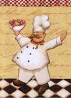 Le Chef et les Fruits - mini Art