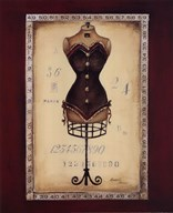 Taille de Robe II - mini  Fine Art Print