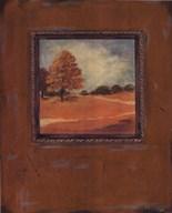 Copper Landscape I  Fine Art Print