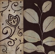 Brown Leaf I Art