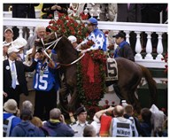 2004 Kentucky Derby Smarty Jones Winners Circle Art