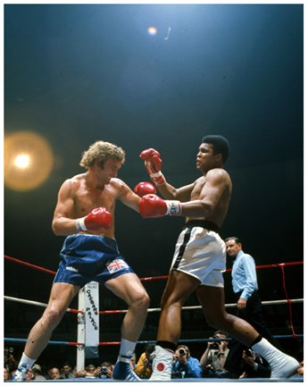 Framed Muhammad Ali vs. Joe Bugner #288 Print