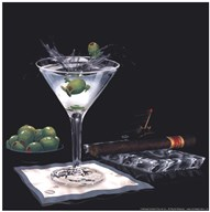Olive Party II  Fine Art Print