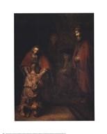 The Return of the Prodigal Son  Fine Art Print