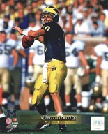 Tom Brady University of Michigan Action  Fine Art Print