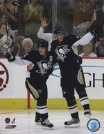 Sidney Crosby &  Evgeni Malkin 2007-08 Action Art