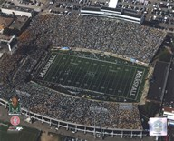 Marshall University Stadium - Aerial View  Fine Art Print