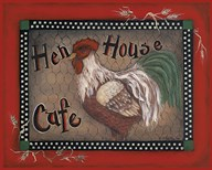 Hen House Cafe  Fine Art Print