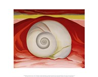 Red Hills and White Shell, 1938  Fine Art Print