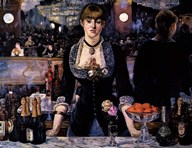 A Bar at the Folies-Bergere Art