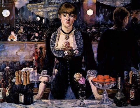 A Bar At The Folies Bergere Fine Art Print By Edouard