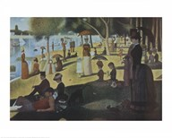Sunday Afternoon on the Island of La Grande Jatte, c.1886 Art