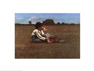 Winslow Homer - Boys in a Pasture Size 15.25x22