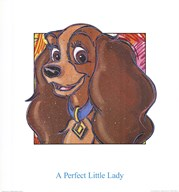A Perfect Little Lady  Fine Art Print