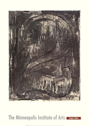 Framed Figure 2, 1963 Print