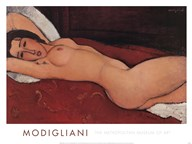 Reclining Nude  Fine Art Print