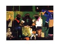 Card Players, 1982  Fine Art Print