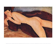 Reclining Nude from the Back, c.1917  Fine Art Print