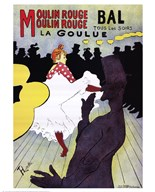 La Goulue at the Moulin Rouge Art