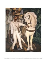 Agrarian Leader Zapata  Fine Art Print