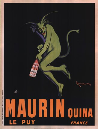 Framed Maurin Quina, 1920 Print