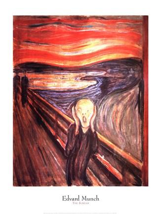 The Scream, c.1893 Fine Art Print by Edvard Munch at