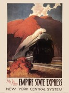 Empire State Express  Fine Art Print